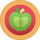 Subtle Brony - Big Macintosh Cutie Circle by nimaru