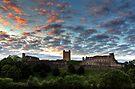 Sunset Over Richmond Castle by Mat Robinson