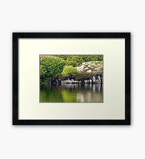 Across A Donegal Lake Framed Print