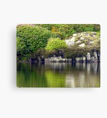 Across A Donegal Lake Canvas Print
