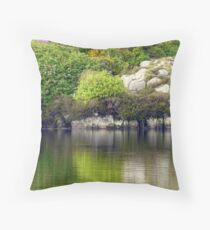 Across A Donegal Lake Throw Pillow
