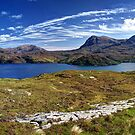 Loch a' Chàirn Bhàin agus Quinag by Ranald