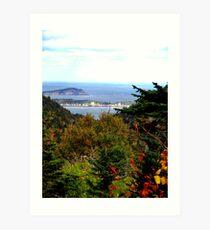 Cabot Trail Vista Art Print