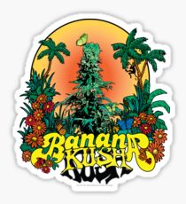 Banana Kush Sticker