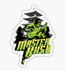 Master Kush Marijuana Strain Art Sticker