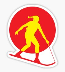 Skifer logo Sticker