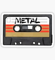 Heavy metal Music band logo Sticker