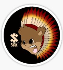 Indian Sirk Sticker
