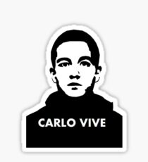 Carlo Vive! Sticker