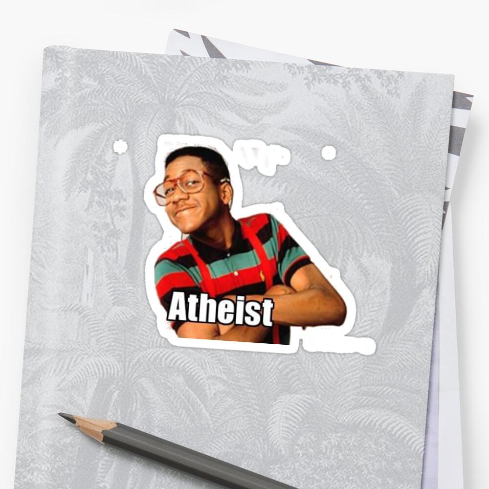 Atheist Urkel by Jordan Farrar
