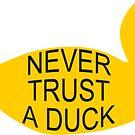 Never Trust A Duck by bethscherm