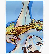 Le Danseur Bleu Poster