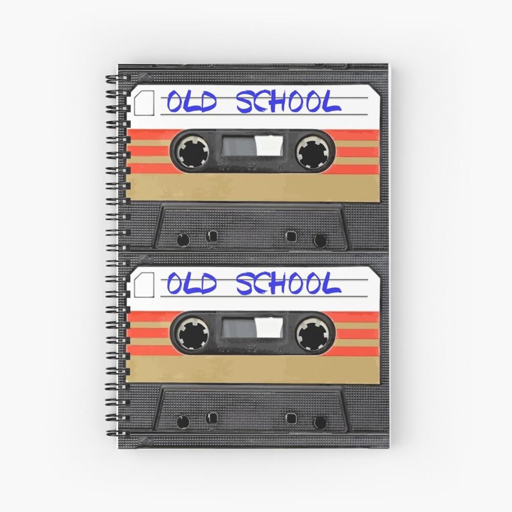 Musica de la vieja escuela Cuaderno de espiral