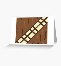 Wookie Belt Greeting Card