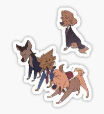 doctor woofs 8-11 Sticker