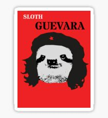 Sloth Geuvara Sticker