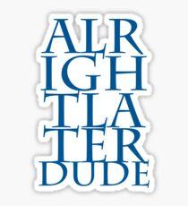 ALD dud Sticker