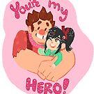 ur my hero by Amanda Long