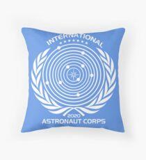 International Astronaut Corps Throw Pillow
