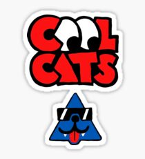 Cool Cats Sticker
