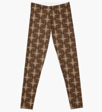 Leaf on the Wind Damask Leggings
