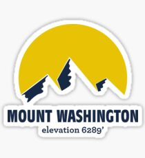 Mount Washington Sticker Sticker