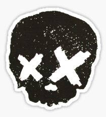 Green Day Skull  Sticker