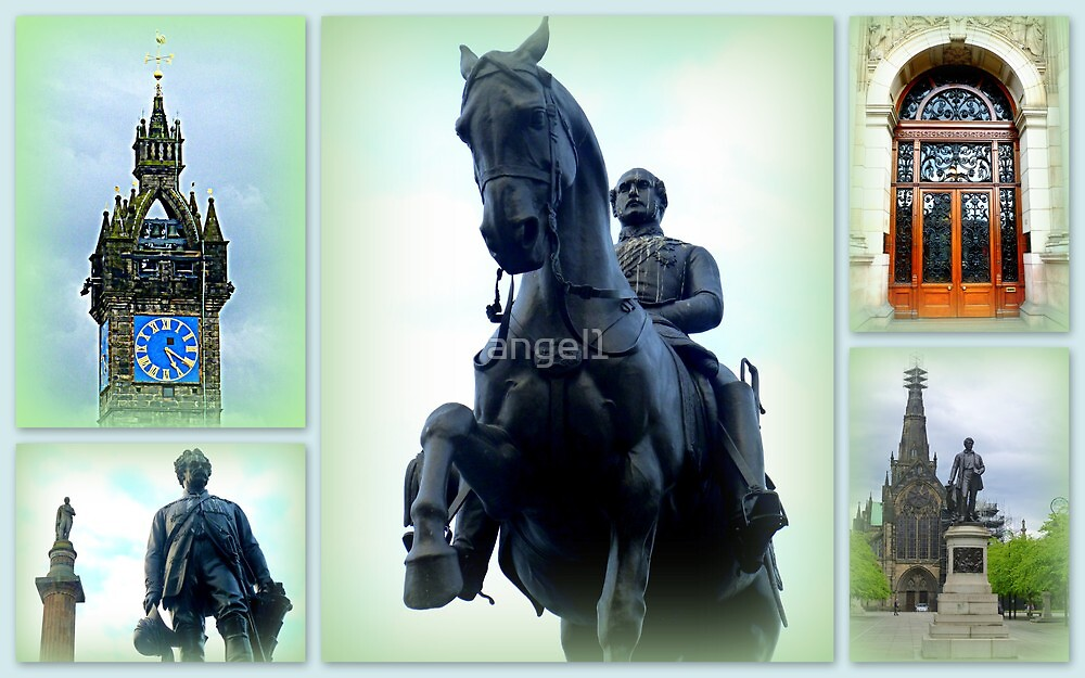 Glasgow ~ Statues & Architectural Details by ©The Creative  Minds