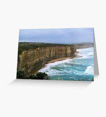 Eastern Escarpment Greeting Card