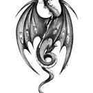 Ink Dragon by Heidi Schwandt Garner