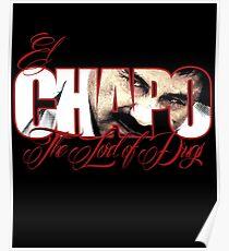 El Chapo Herr der Drogen Poster