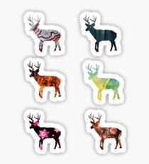 Deer 3 Sticker