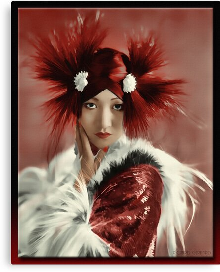 Anna May Wong 1905 - 1961 by Richard  Gerhard