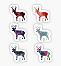 Deer 4 Sticker