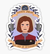 Kathryn Janeway Sticker