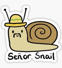Senor Snail  Sticker