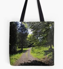 Walkway in the sun Tote Bag