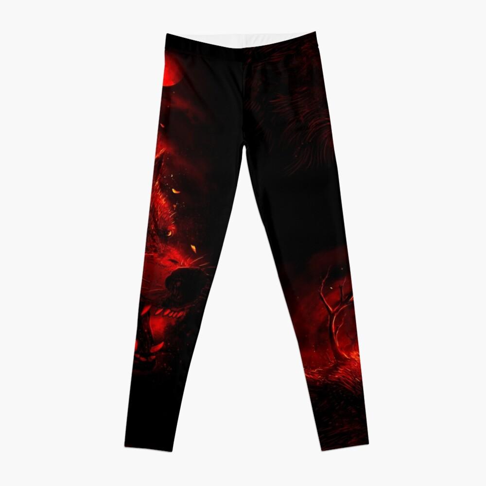 Red Dream Leggings