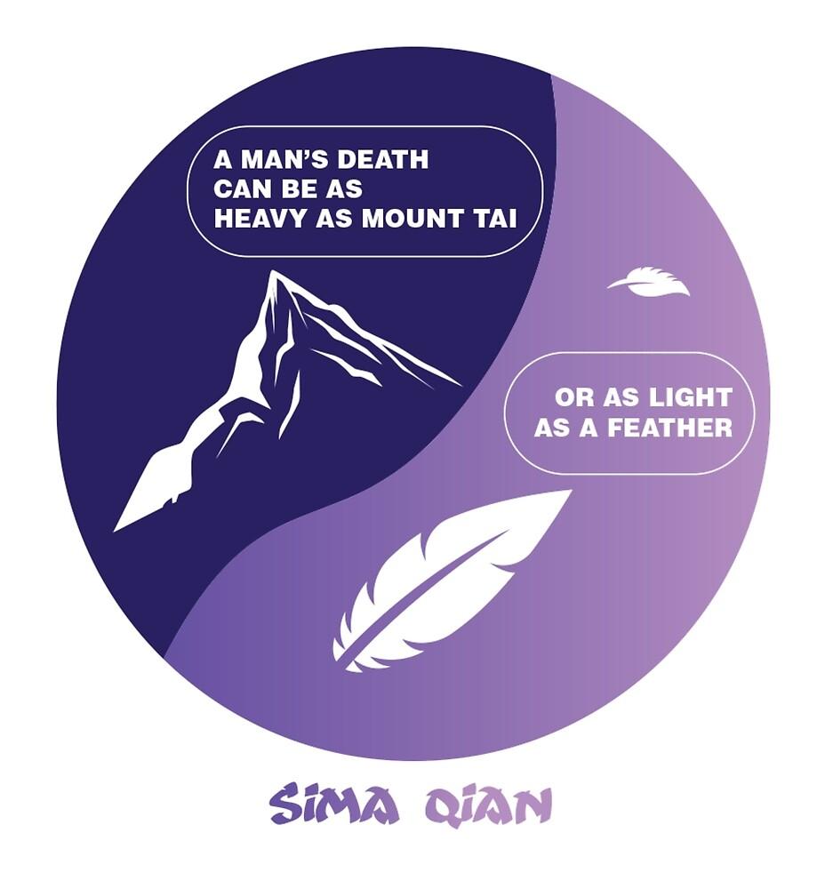 As Mount Tai - Sima Qian Version 2 by Jen Finelli