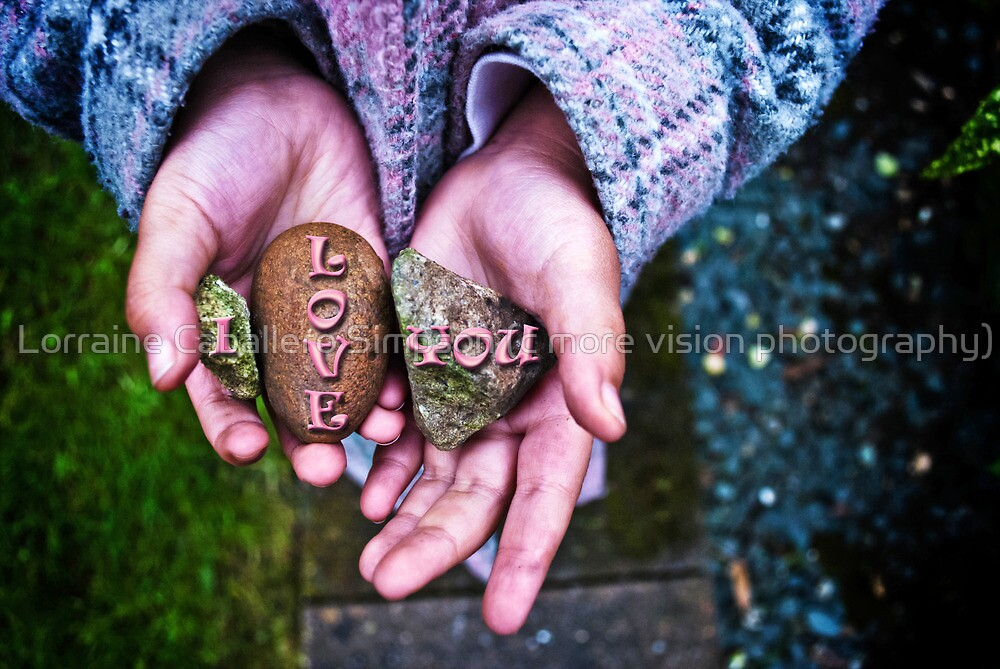 I Love You Too by Lorraine Caballero Simpson (c more vision photography)