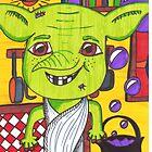 Cheeky House Elf by LittleMizMagic