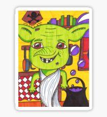 Cheeky House Elf Sticker