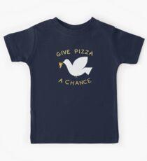 War & Pizza Kids Tee