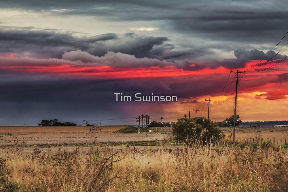 Stormcloud Sunset by Tim Swinson