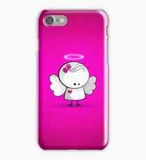 Angel girl iPhone Case/Skin