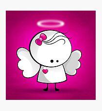 Angel girl Photographic Print