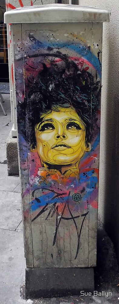 Raval Graffiti by Sue Ballyn