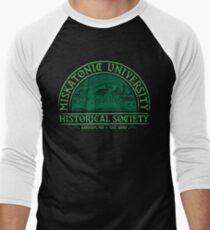 Miskatonische Historische Gesellschaft Baseballshirt mit 3/4-Arm