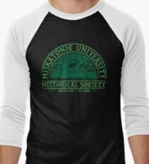 Miskatonic Historical Society Men's Baseball ¾ T-Shirt