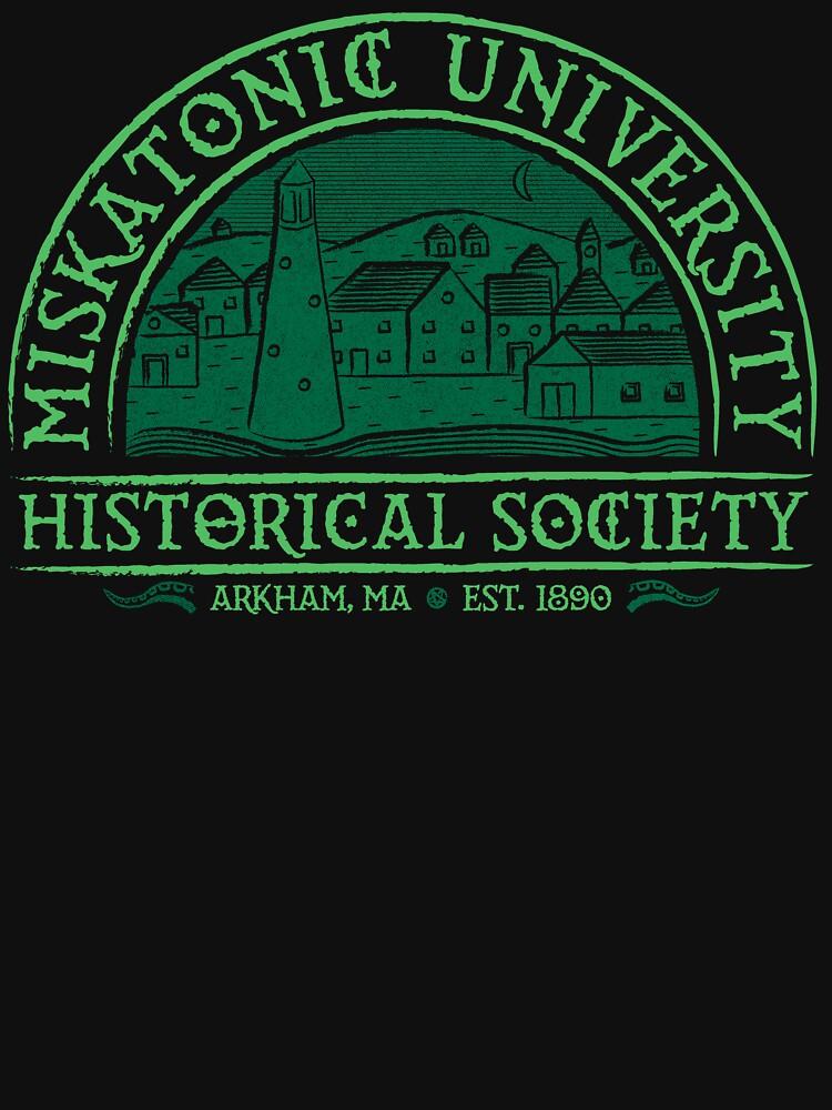 Miskatonische Historische Gesellschaft von vonplatypus
